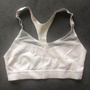 Victoria Secret White Sports Bra
